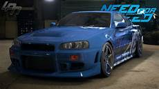 Need For Speed 2015 Nissan Skyline Gt R R34 Gameplay