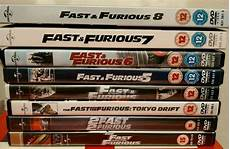 Fast And Furious Dvds 1 8 In Macclesfield Cheshire
