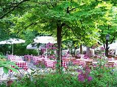 Biergarten Umgeben Wundervoller Landschaft Landsberg