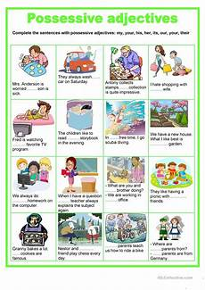 possessive adjectives worksheet free esl printable worksheets made by teachers