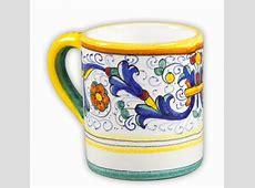 Ricco Deruta Mug   Italian Pottery Outlet