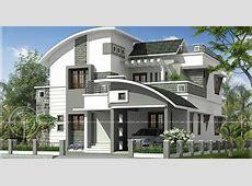 2200 sq ft modern villa exterior   Home Kerala Plans