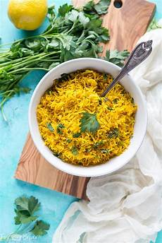 Turmeric Rice Recipe Fox And Briar