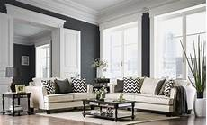 percey off white living room from furniture of america