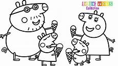 peppa pig and friends coloring pages at getdrawings free