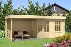 gartenhaus 44 mm wandstärke gartenhaus 40 holz 598x302 cm 40 mm flachdach