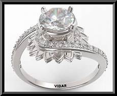 brilliant moissanite flower shaped engagement ring with diamond ebay