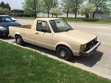 1982 Vw Rabbit Diesel Caddy Truck With 5 Speed