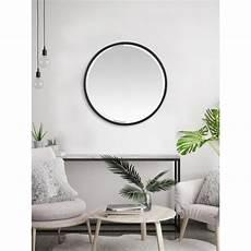 miroir rond metal miroir metal rond noir tendance deco design large