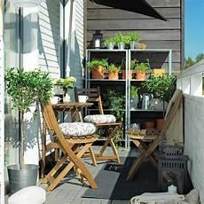 mobilier de balcon mobilier adapt 233 pour petit balcon je jardine