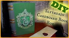Diy Slytherin Cardboard Book Box Harry Potter Inspired