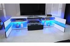 meuble tv hifi blanc meuble tv hifi lumineux laqu 233 blanc 3 portes 1 tiroir