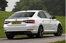 skoda superb sportline is a more exciting than