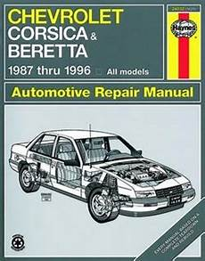 motor auto repair manual 1994 chevrolet corsica on board diagnostic system haynes repair manual for chevy corsica and beretta 1987 thru 1996