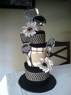 dish towel cake bridal shower gift housewarming gift