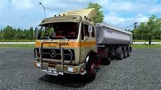 mercedes ng ets 2 mod mercedes ng 1632 truck simulator 2 1 30