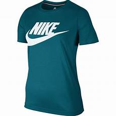nike womens sportswear essential t shirt in blustery