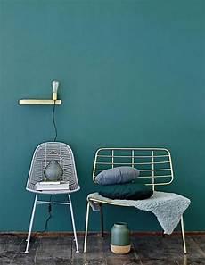 Petrol Als Wandfarbe So Wird Sie Kombiniert Wandfarbe