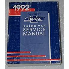 car manuals free online 1992 chevrolet astro electronic valve timing 1992 chevy chevrolet astro owners manual online by carleypaba on