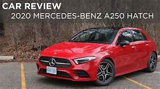 car review 2020 mercedes a250 hatchback driving