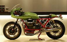 Cafe Racer Special Moto Guzzi Le Mans Iii Special By