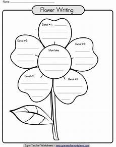 check out this paragraph writing flower to help your students improve the organization of their