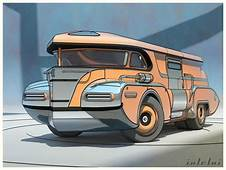 Awesome Vehicle Art In Sketchup By 600v — Polycount