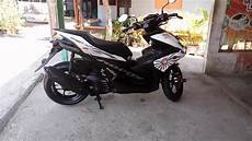 Aerox Modif Simple by Yamaha Aerox 155 Cc Standar Modifikasi Simple