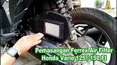 Modifikasi Filter Udara Vario 125 by 88 Modifikasi Filter Udara Motor Matic Terupdate Klepon