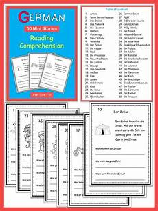 german reading comprehension worksheets 19626 german reading comprehension 50 mini stories texts chang e 3 and vocabulary in context