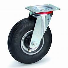 roue gonflable pour chariot roues pivotantes pneu gonflable equipement manutention