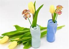 osterdeko basteln vasen selber machen aus getr 228 nkedosen