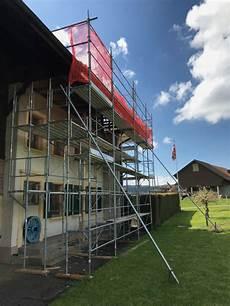 echafaudage pour toiture echafaudages tours en aluminium fribourg vaud valais