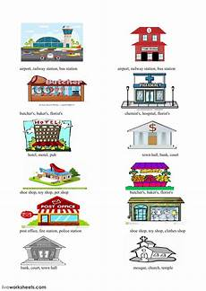 worksheets for places to live 15996 places interactive worksheet