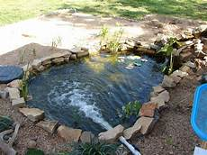 Teichfilter Eigenbau Technik - fish pond filter system free engine