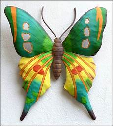 butterfly home decor painted metal butterfly wall decor tropical colors