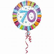 ballon helium 70 ans ballon deco anniversaire 70 ans