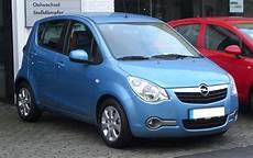 Opel Agila вікіпедія