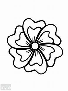Malvorlage Blume Einfach Simple Drawing Of Flowers At Getdrawings Free