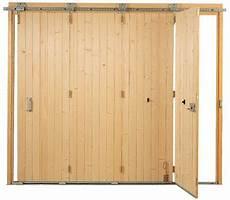 porte de garage coulissante bois porte de garage en bois coulissante isolation id 233 es