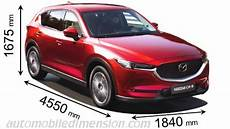mazda cx 5 abmessungen dimensions of mazda cars showing length width and height