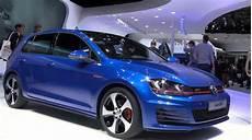 vw golf 7 blau 2013 vw golf vii gti 5 door in blue autoevolution