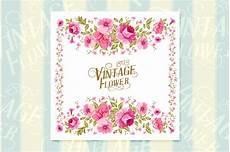 flower card design template vintage flower card template card templates on creative