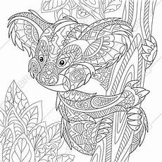 koala 2 coloring pages animal coloring book pages for