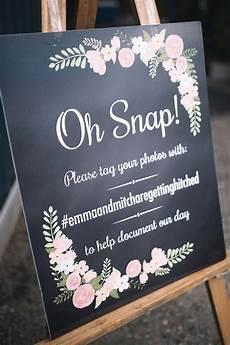 wedding hashtag wedding hashtag sign surprise wedding