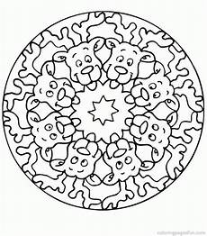 Malvorlagen Mandala Weihnachten Mandala Coloring Pages Coloring Home