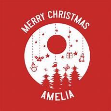 merry christmas amelia name merry christmas amelia name maglietta teepublic it