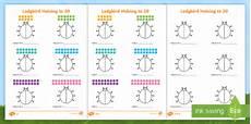 differentiated halving to 20 ladybird worksheet worksheets worksheets