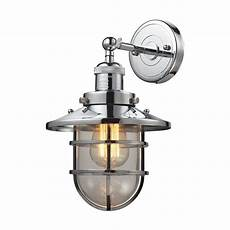 nautical seaport wall sconce in oil rubbed bronze elk lighting lighting connection