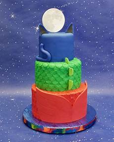 Malvorlagen Pj Masks Cake Pj Masks Birthday Cake Cakecentral Pj Masks